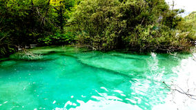 Beautiful landscape in the Plitvice Lakes Stock Photos