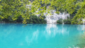 Beautiful landscape in the Plitvice Lakes Stock Photo