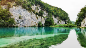 Beautiful landscape in the Plitvice Lakes Stock Image