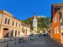 Rasnov landmark Stock Photo