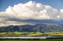 Beautiful landscape. Region Liptov in Slovakia Royalty Free Stock Photos