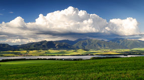 Beautiful landscape. Region Liptov in Slovakia Stock Photo