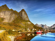 Lofoten, Reine Village Stock Photography