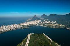 Beautiful Landscape of Rio de Janeiro Stock Image