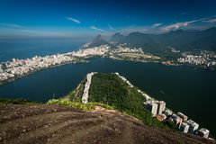 Beautiful Landscape of Rio de Janeiro Royalty Free Stock Image