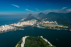 Beautiful Landscape of Rio de Janeiro Stock Photography