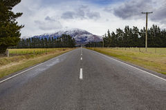 Beautiful landscape of road to arthur's pass national park new z Royalty Free Stock Photography