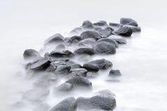 Beautiful landscape of rocks. Royalty Free Stock Photo