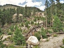 Rocky Mountain National Park. Beautiful landscape at Rocky Mountain National Park near Estes Park, Colorado royalty free stock photography
