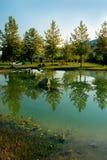 Beautiful landscape - Rupite Stock Image