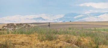 Beautiful landscape in Sandikli, Turkey Stock Images