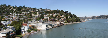Beautiful landscape of Sausalito. Stock Photography