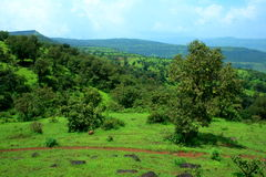 Beautiful landscape scene in Satara Stock Images