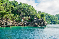Beautiful landscape scenery in Philippines royalty free stock photo