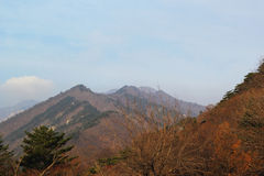 Beautiful landscape at Seoraksan Korea. Stock Image