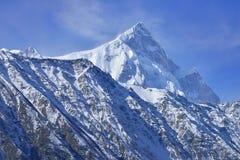 Beautiful Landscape of Shispare peak in Autumn season. Stock Image
