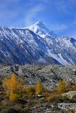 Beautiful Landscape of Shispare peak in Autumn season. Royalty Free Stock Image