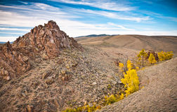A beautiful landscape shot of the Colorado wilderness Stock Photos