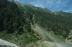 Valley in Kashmir Royalty Free Stock Photos