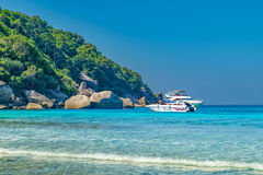 Beautiful landscape, Similan Island, Thailand. Royalty Free Stock Photo
