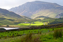 Beautiful landscape in Snowdonia, Royalty Free Stock Image