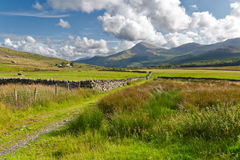 Beautiful landscape in Snowdonia Royalty Free Stock Photo