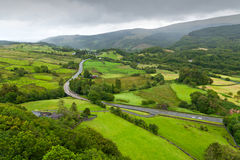Beautiful landscape in Snowdonia Royalty Free Stock Image