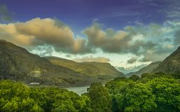 Beautiful landscape of Snowdonia National Park. stock photography