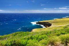 Beautiful landscape of South Big Island of Hawaii Stock Image