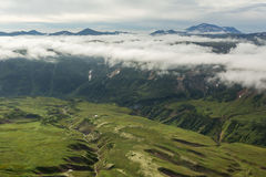 Beautiful landscape in South Kamchatka Nature Park. Royalty Free Stock Images