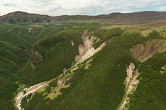 Beautiful landscape in South Kamchatka Nature Park. Stock Image