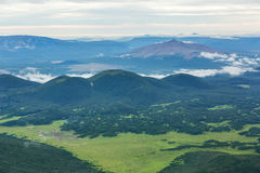 Beautiful landscape in South Kamchatka Nature Park. Royalty Free Stock Photos