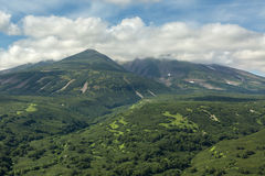 Beautiful landscape in South Kamchatka Nature Park. Stock Photos