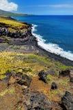 Beautiful landscape of South Maui. The backside of Haleakala Crater on the island of Maui, Hawaii. USA Royalty Free Stock Photo