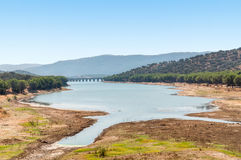 Beautiful landscape of southern Spain Royalty Free Stock Image