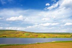 beautiful landscape spring Стоковые Изображения RF