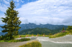 Beautiful landscape in Steinplatte mountain, Waidring, Austria Royalty Free Stock Images