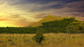 Beautiful landscape. Beautiful summer landscape in mountain Royalty Free Stock Photos