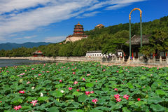 Beautiful landscape of Summer palace Stock Photography