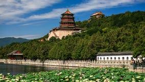 Beautiful landscape of Summer palace Stock Photo