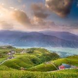 Beautiful landscape of sunrise Stock Images
