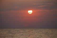 Beautiful landscape, sunrise on the sea Stock Photography