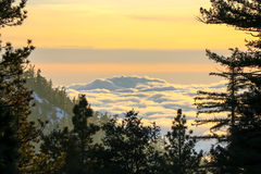 Beautiful Landscape Sunset Stock Image