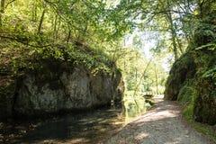 Beautiful landscape in Swabian Alb Stock Photos