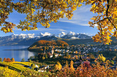 Beautiful landscape in Switzerland Royalty Free Stock Photo