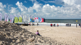 Beautiful landscape on Sylt island at North Sea. Beautiful landscape on Sylt island at North Sea royalty free stock photos