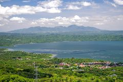 Beautiful landscape at Tagaytay royalty free stock images