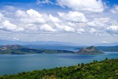 Beautiful landscape at Tagaytay royalty free stock photos