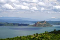 Beautiful landscape at Tagaytay stock images