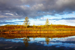 Beautiful landscape in Taimyr, Russia Royalty Free Stock Photos
